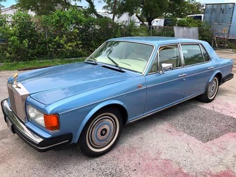 1985 Rolls-Royce Silver Spur for sale in Fort Lauderdale, FL