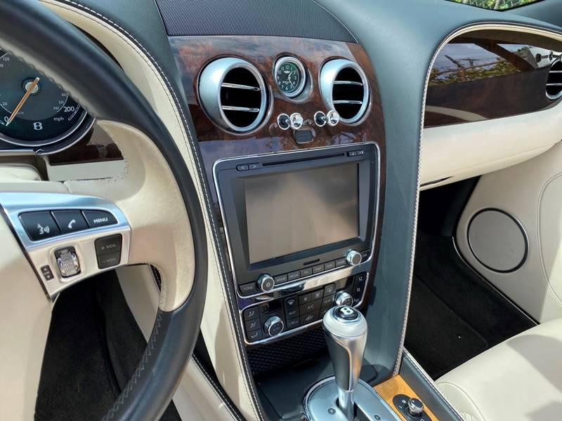 2014 Bentley Continental AWD GT 2dr Convertible - Fort Lauderdale FL