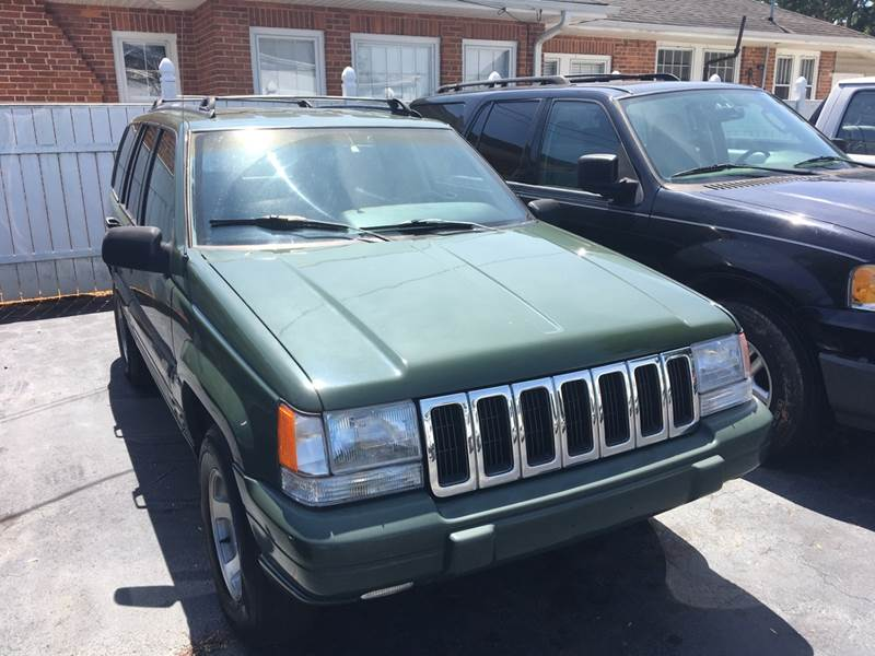 1997 Jeep Grand Cherokee For Sale At OCONEE AUTO SALES In Seneca SC