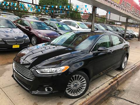 2016 Ford Fusion for sale at United Brothers Auto Sales in Jamaica NY