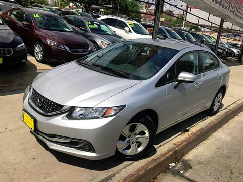 2015 Honda Civic for sale at United Brothers Auto Sales in Jamaica NY