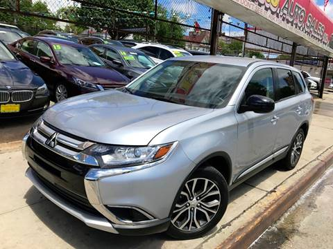 2016 Mitsubishi Outlander for sale at United Brothers Auto Sales in Jamaica NY