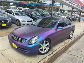 2003 Infiniti G35 for sale in Jamaica, NY