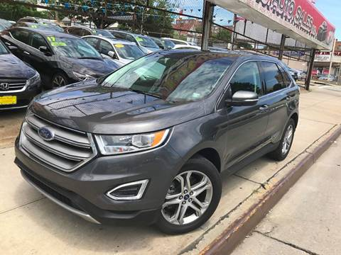 2017 Ford Edge for sale at United Brothers Auto Sales in Jamaica NY