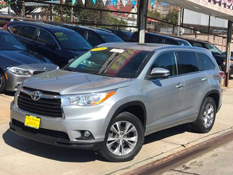 2014 Toyota Highlander for sale at United Brothers Auto Sales in Jamaica NY