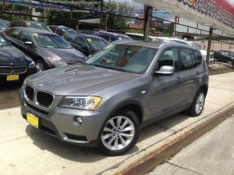 2013 BMW X3 for sale at United Brothers Auto Sales in Jamaica NY