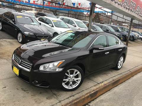 2014 Nissan Maxima for sale at United Brothers Auto Sales in Jamaica NY