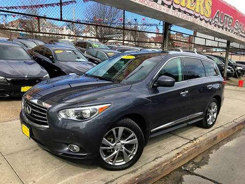2013 Infiniti JX35 for sale at United Brothers Auto Sales in Jamaica NY