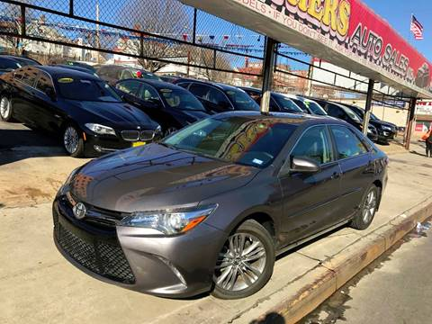 2015 Toyota Camry for sale at United Brothers Auto Sales in Jamaica NY