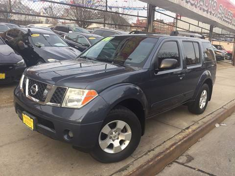 2006 Nissan Pathfinder for sale at United Brothers Auto Sales in Jamaica NY
