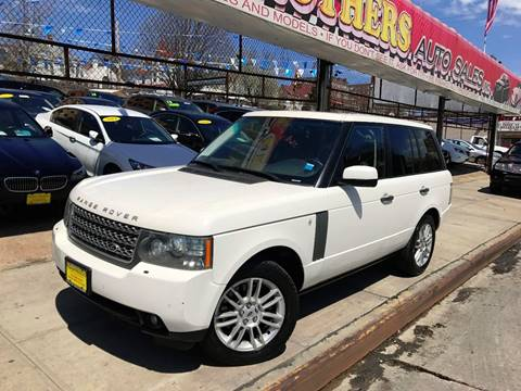 2010 Land Rover Range Rover for sale at United Brothers Auto Sales in Jamaica NY
