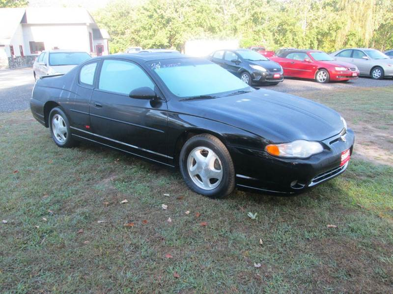 2001 Chevrolet Monte Carlo SS 2dr Coupe - Wallingford VT