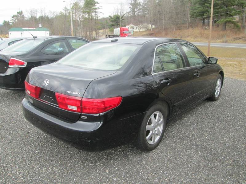 2005 Honda Accord EX V-6 4dr Sedan - Wallingford VT