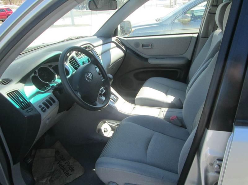 2004 Toyota Highlander AWD 4dr SUV - Wallingford VT