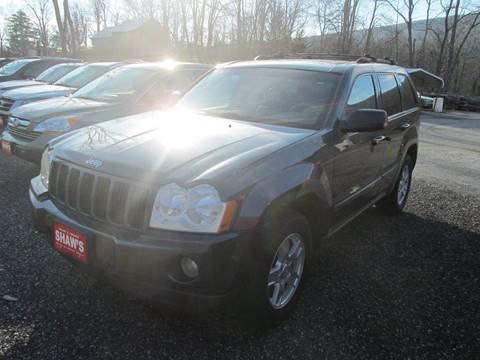 2007 Jeep Grand Cherokee for sale at Shaw's Sales & Service in Wallingford VT