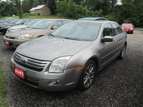 2009 Ford Fusion for sale at Shaw's Sales & Service in Wallingford VT