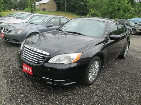 2012 Chrysler 200 for sale at Shaw's Sales & Service in Wallingford VT