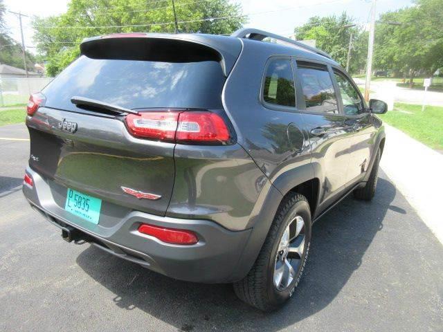 2017 Jeep Cherokee 4x4 Trailhawk 4dr SUV - Winthrop Harbor IL
