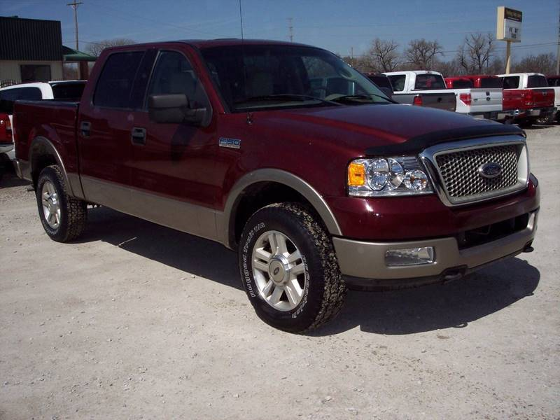 2004 Ford F 150 Lariat In Manhattan Ks Frieling Auto Sales