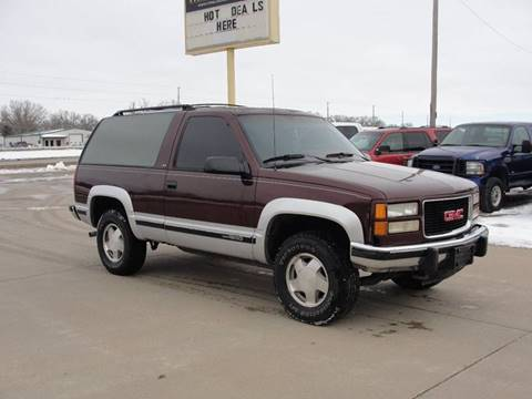 1994 GMC Yukon for sale in Manhattan, KS