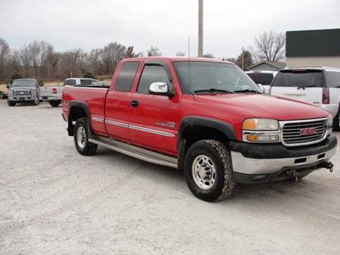 2001 GMC Sierra 2500HD for sale in Manhattan, KS