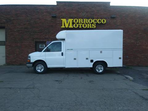2013 Chevrolet Express Cutaway 3500 for sale at Morrocco Motors in Erie PA