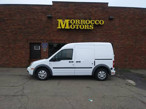 2010 Ford Transit Connect Cargo Van XL for sale at Morrocco Motors in Erie PA