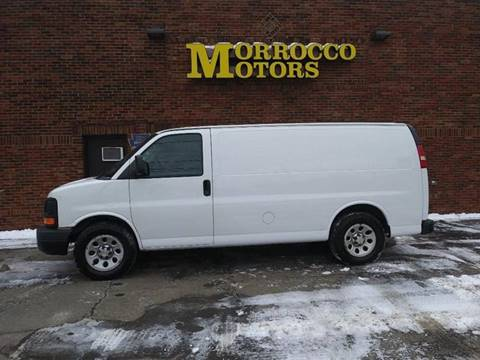 2012 Chevrolet Express Cargo 1500 for sale at Morrocco Motors in Erie PA