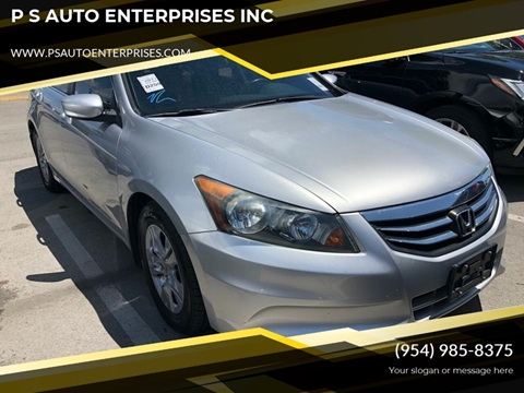 2011 Honda Accord for sale in Miramar, FL