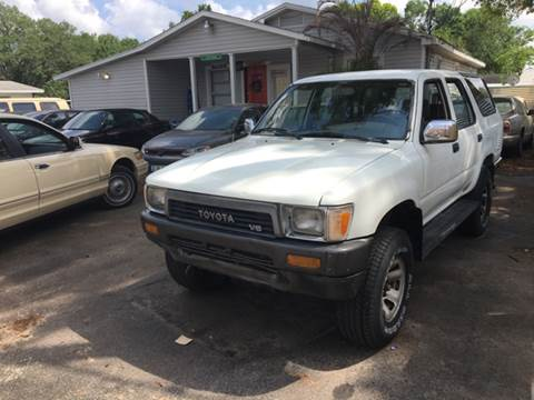 1990 Toyota 4Runner for sale at OVE Car Trader Corp in Tampa FL