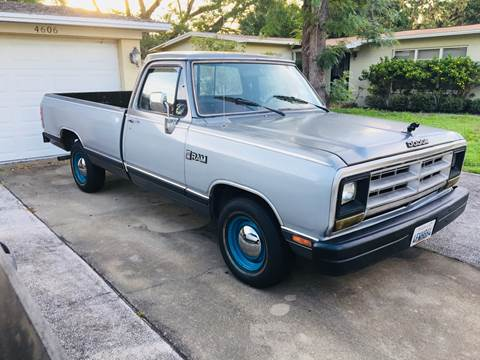 1988 Dodge RAM 150 for sale in Tampa, FL
