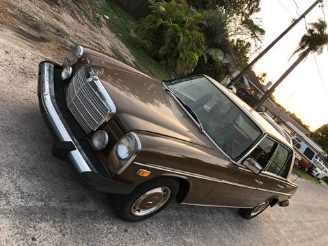 1976 Mercedes-Benz 240-Class for sale at OVE Car Trader Corp in Tampa FL