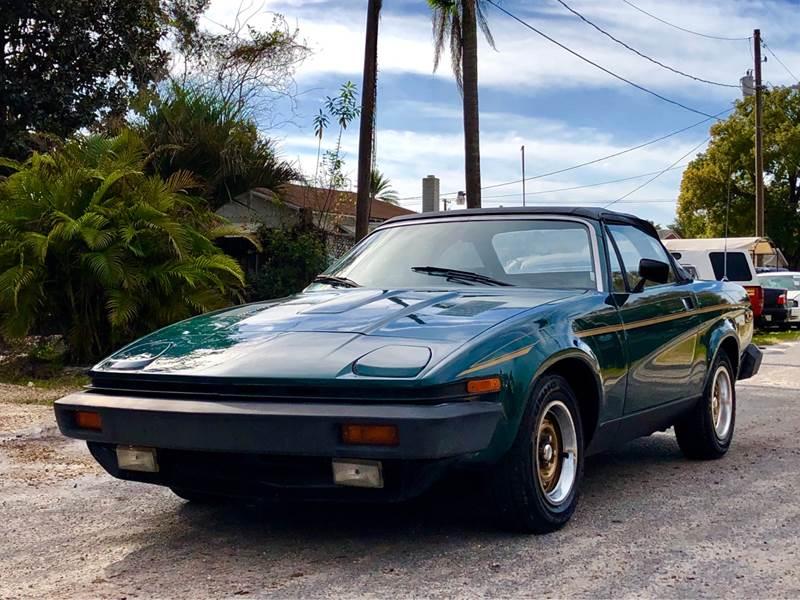 1979 Triumph Tr7 30th Anniversary In Tampa Fl Ove Car Trader Corp