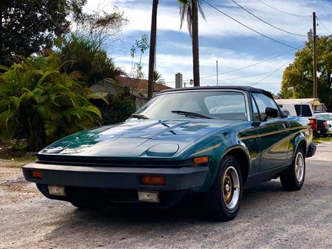 1979 Triumph TR7 for sale at OVE Car Trader Corp in Tampa FL