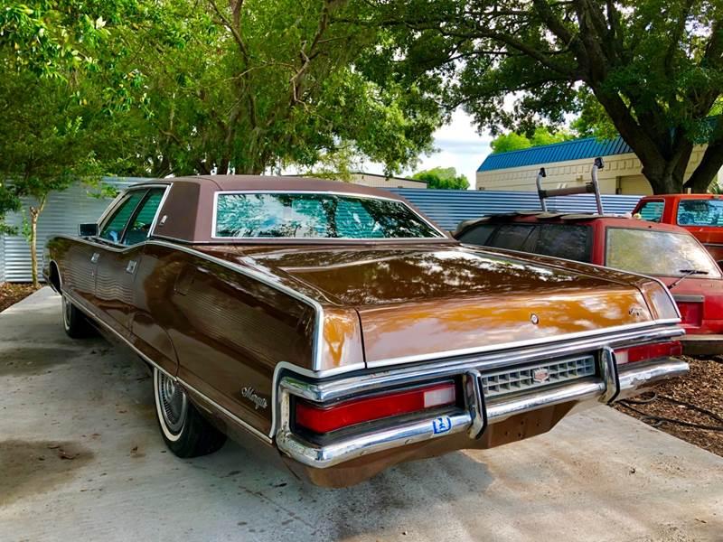 1972 Mercury Marquis Brougham In Tampa FL - OVE Car Trader Corp