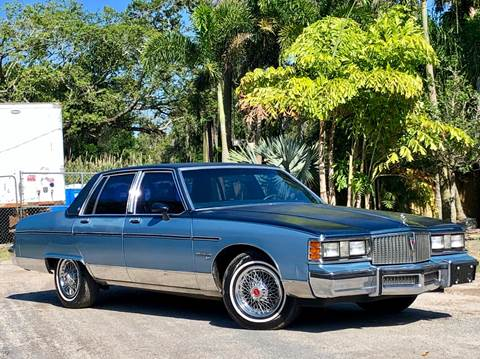 1981 Pontiac Bonneville for sale at OVE Car Trader Corp in Tampa FL