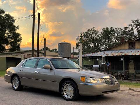 1999 Lincoln Town Car for sale at OVE Car Trader Corp in Tampa FL