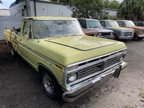 1973 Ford F-100 for sale at OVE Car Trader Corp in Tampa FL