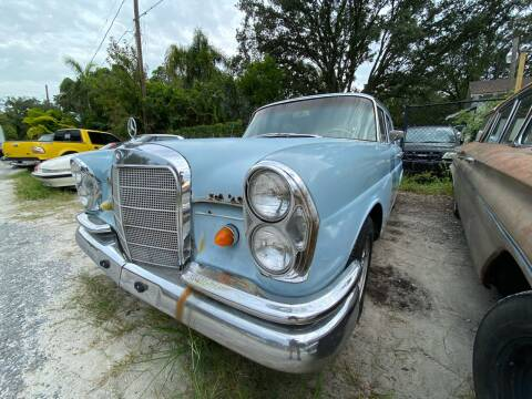1965 Mercedes-Benz 220 Automatic for sale at OVE Car Trader Corp in Tampa FL