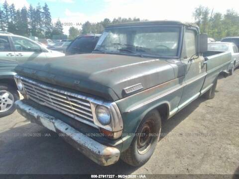 1967 Ford F-100 for sale at OVE Car Trader Corp in Tampa FL