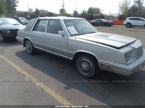 1985 Chrysler New Yorker for sale at OVE Car Trader Corp in Tampa FL