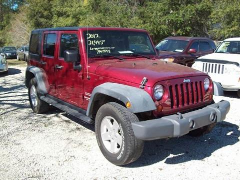 2012 Jeep Wrangler Unlimited for sale in St Augustine, FL