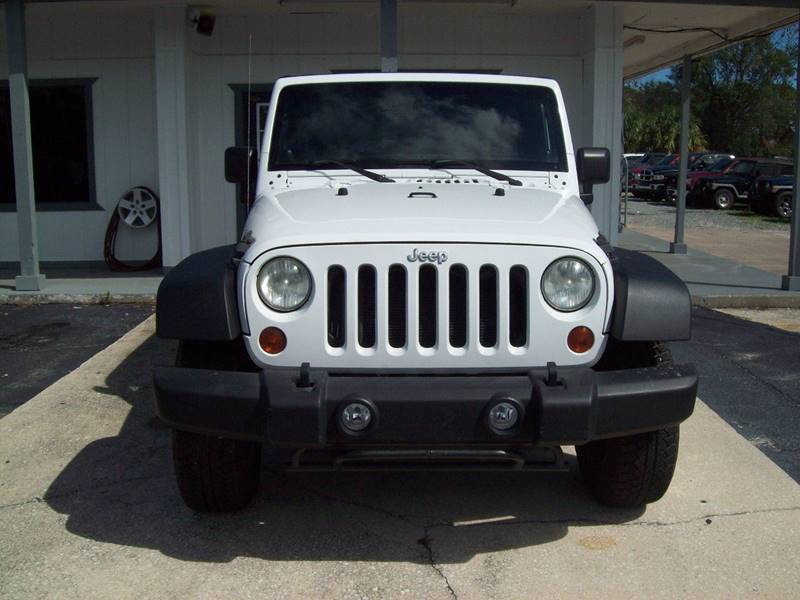 2011 Jeep Wrangler Unlimited 4x4 Rubicon 4dr SUV In ST AUGUSTINE