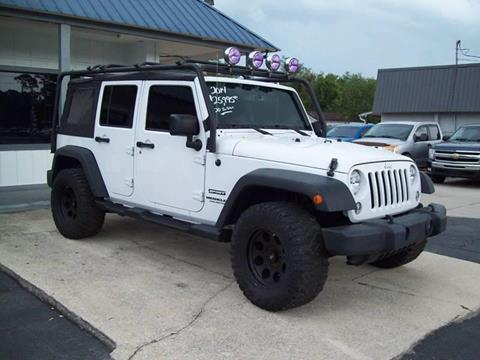 2014 Jeep Wrangler Unlimited for sale in St Augustine, FL