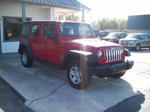 2011 Jeep Wrangler Unlimited for sale in St Augustine, FL