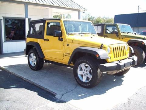 2015 Jeep Wrangler for sale in St Augustine, FL