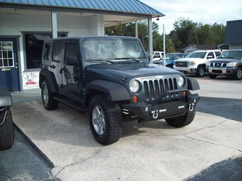 2008 Jeep Wrangler For Sale >> Jeep Used Cars Pickup Trucks For Sale St Augustine Longstreet Auto