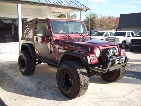 2002 Jeep Wrangler for sale in St Augustine, FL