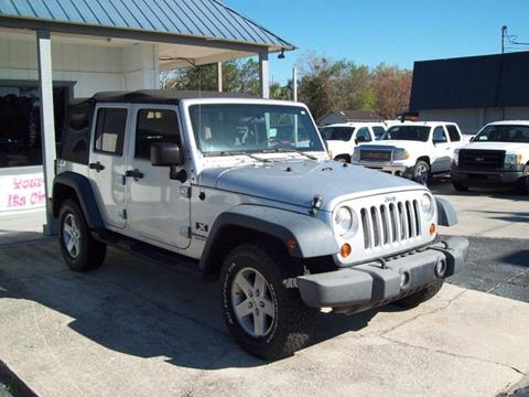 2008 Jeep Wrangler Unlimited for sale in St Augustine, FL