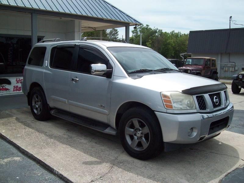 Nissan St Augustine >> 2005 Nissan Armada Se 4dr Suv In St Augustine Fl Longstreet Auto
